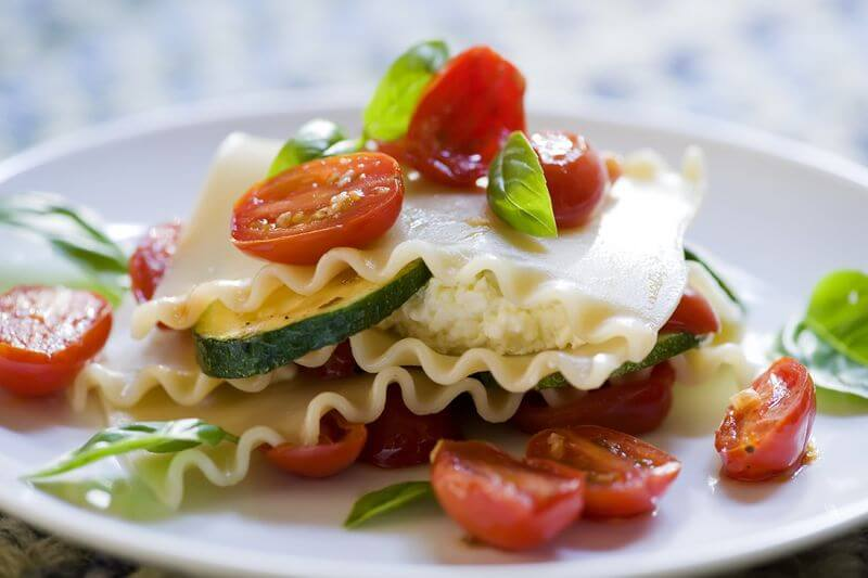 No-Bake Summertime Lasagne