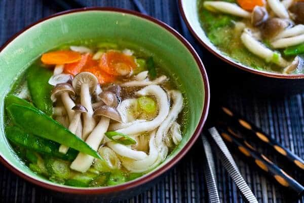 15 Minute Udon Noodle Soup with Miso