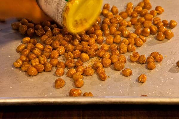 Add Seasoning Crispy Roasted Chickpeas Recipe