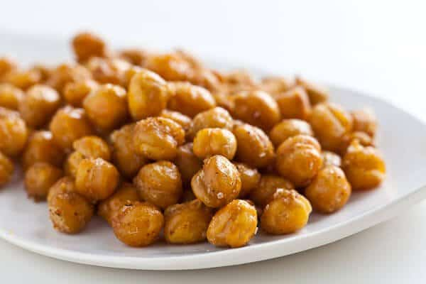 Crispy Roasted Chickpeas (Garbanzo Beans) Recipe