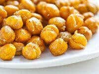 Crispy Roasted Chickpeas Recipe