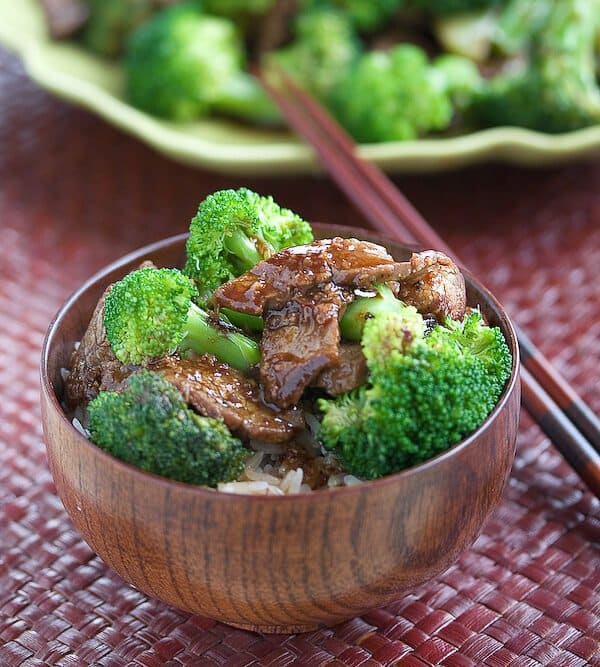 Chinese Broccoli Beef Recipe (from my cookbook!) on my other website ...