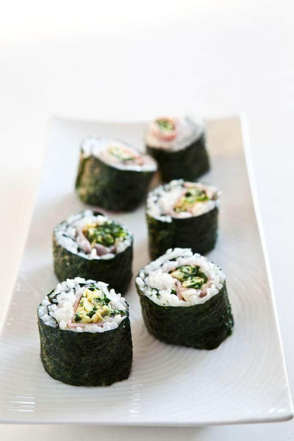 green eggs and ham sushi recipe dr. seuss