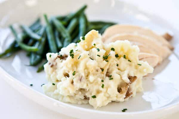 Roasted Garlic Mashed Potatoes Recipe