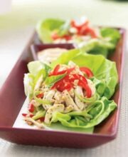 Thai-Basil-Chicken-Lettuce-Wrap