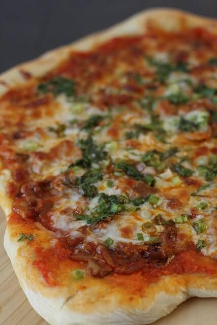 kimchi pizza recipe