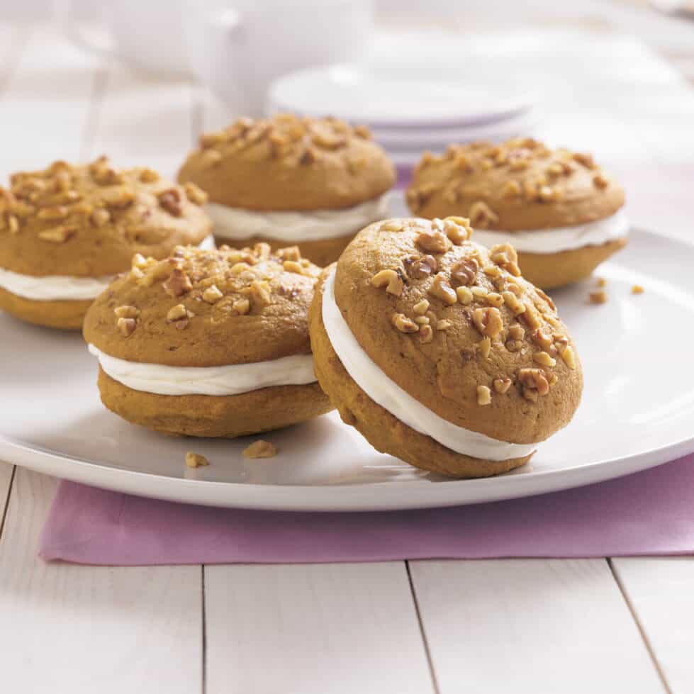 Pumpkin Whoopie Pies Steamy Kitchen Recipes