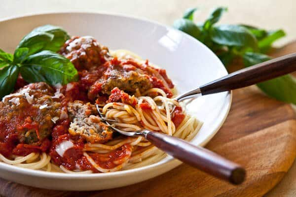 Bobby Flay's Spaghetti and Meatballs Recipe