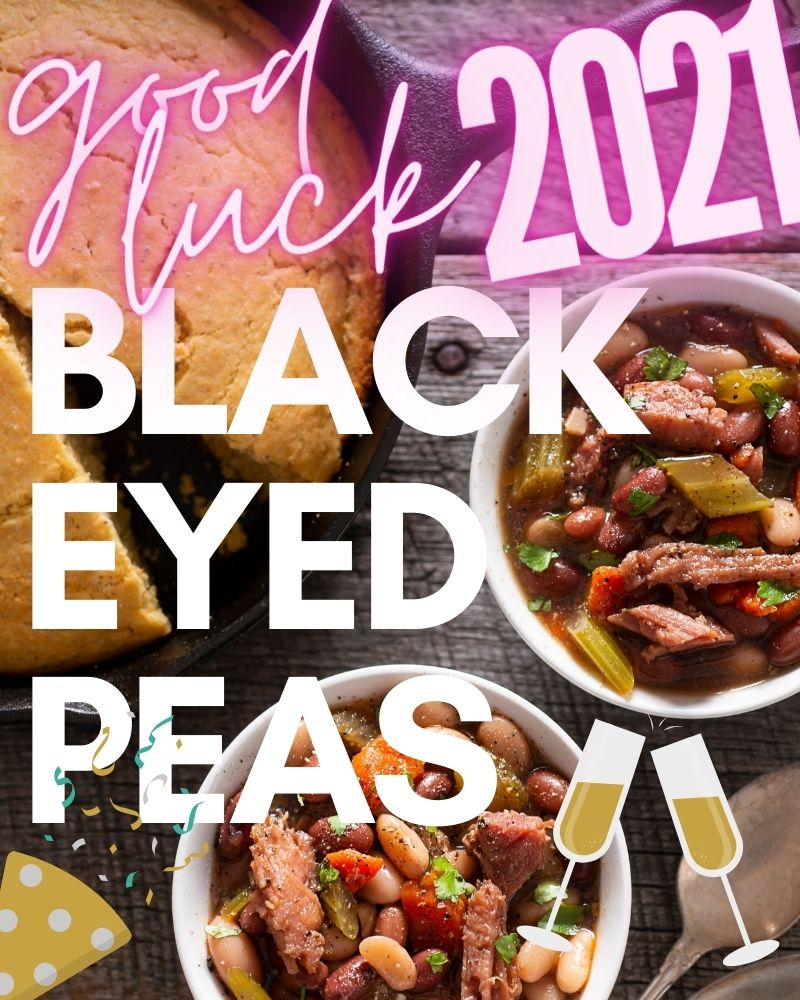 Black Eyed Peas with Ham – good luck for New Year's!