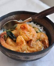 Prawns-with-coconut-Milk-and-Crab-Fat