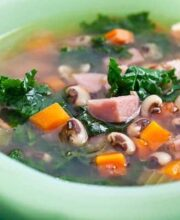 Black Eyed Peas Ham Recipe for New Year