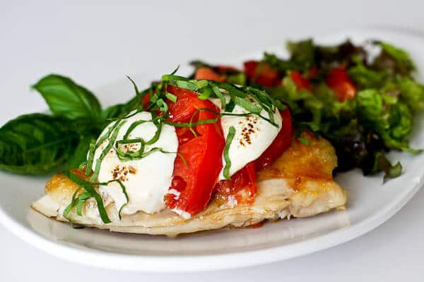 Chicken Caprese (using leftover chicken) - Steamy Kitchen Recipes