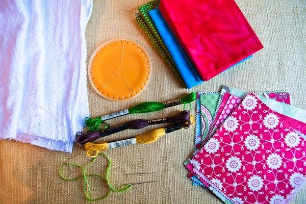 Easy Sew Kitchen Hand Towels • Steamy Kitchen Recipes