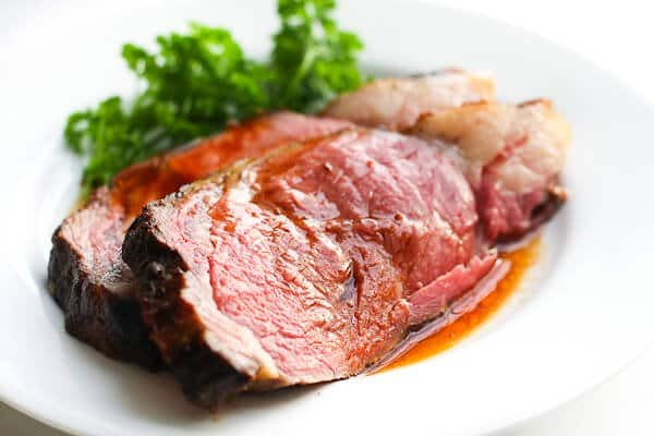 Prime Rib Recipe - Serve with jus