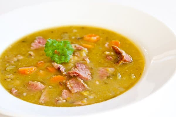 pressure cooker split pea ham soup recipe