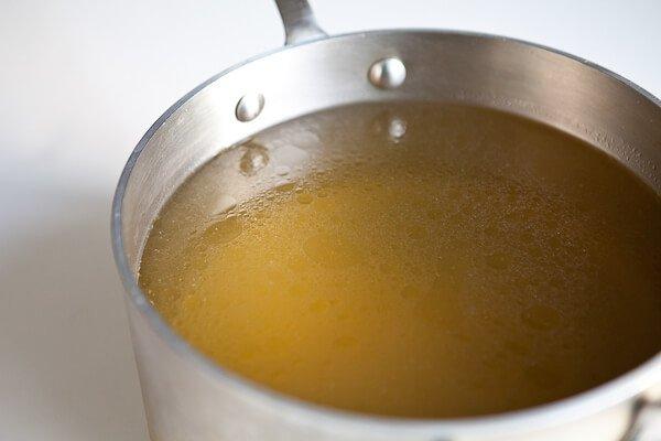 broth in pot