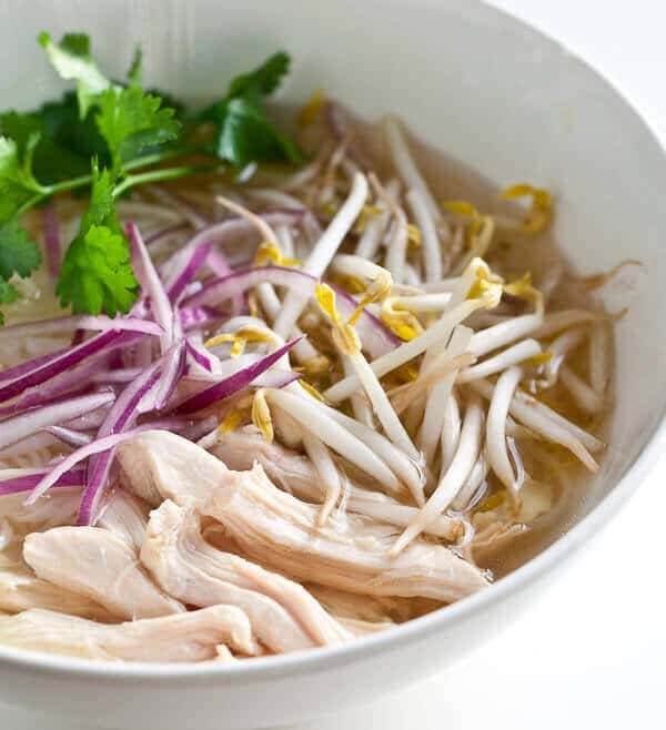 Slow Cooker Vietnamese Chicken Pho Recipe (Pho Ga)