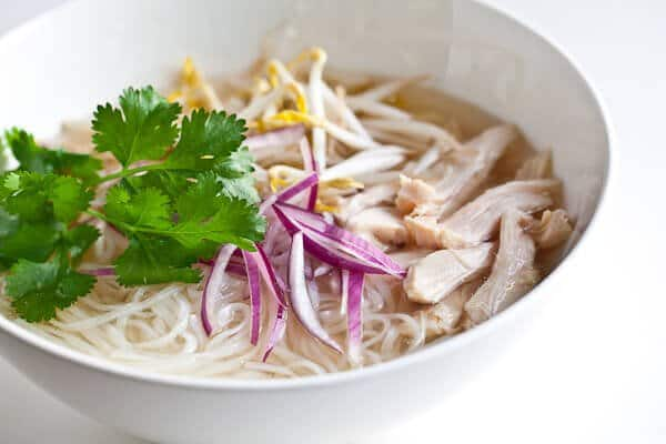 Slow Cooker Vietnamese Chicken Pho (Pho Ga)