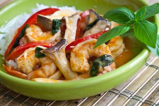 10-Minute Thai Shrimp Curry - Steamy Kitchen Recipes