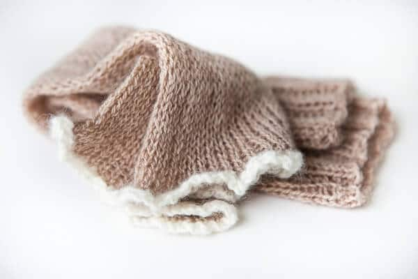 Free Beginner to Advanced Knitting Patterns: Slip Stitch Arm Warmer
