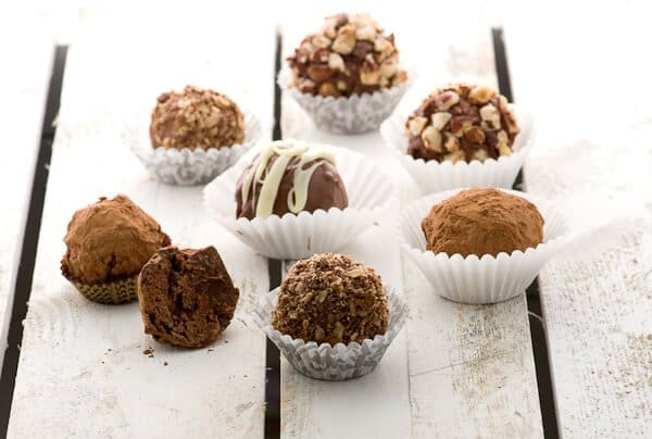 ... you know what's more precious than these Nutella Chocolate Truffles