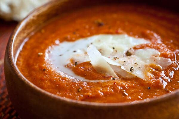 Roasted Tomato Soup - Steamy Kitchen Recipes