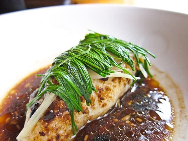 Steamed Fish with Black Bean Sauce - Steamy Kitchen Recipes