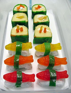 sushi candy not martha