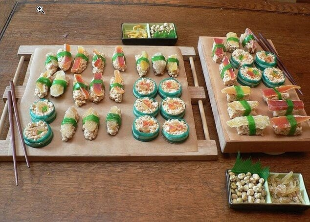 sushi candy dot