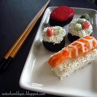 sushi-cupcakes