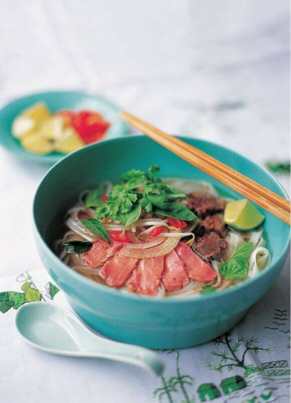 Vietnamese Rice Noodle Soup With Beef Recipes — Dishmaps