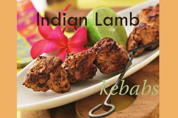 Indian Lamb Kebobs