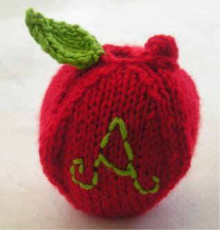 Crocheted Apple Cozy Steamy Kitchen Recipes