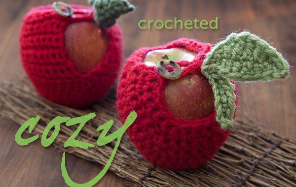 Crocheted Apple Cozy