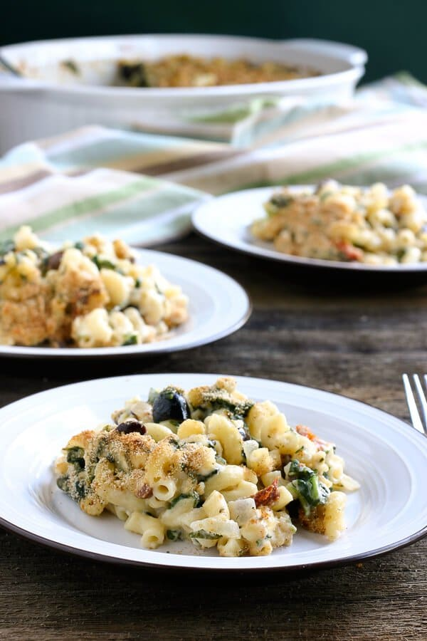 Greek Style Mac and Cheese