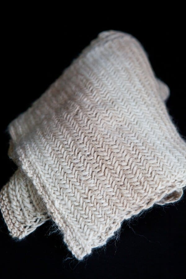 Knit Herringbone Scarf Pattern Steamy Kitchen Recipes