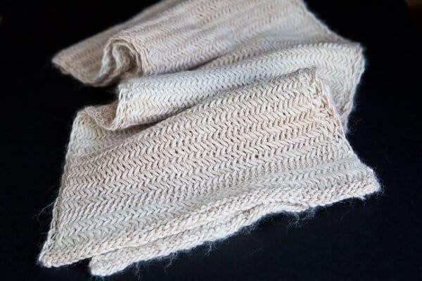 Knit Herringbone Scarf Pattern Steamy Kitchen Recipes