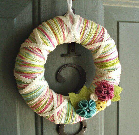 The Yarn Wreath Inspiration