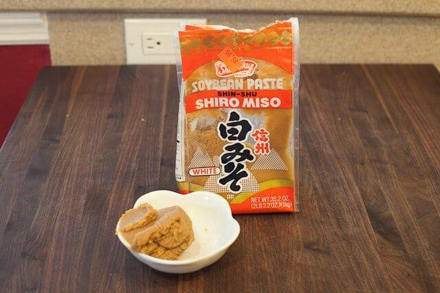 Miso for Miso Ramen Recipe