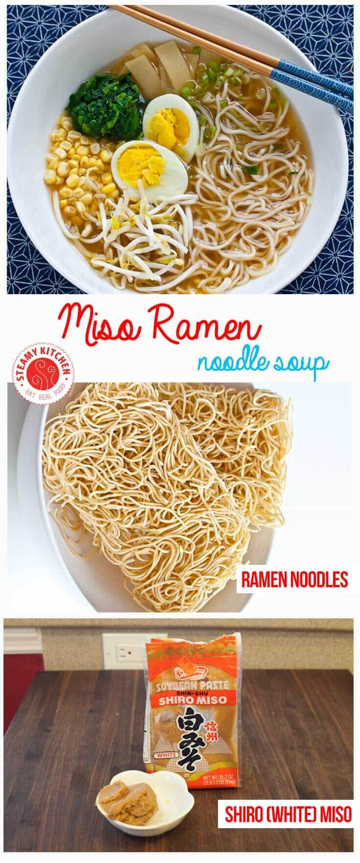 Miso Ramen Recipe - you can make this is 25 minutes!