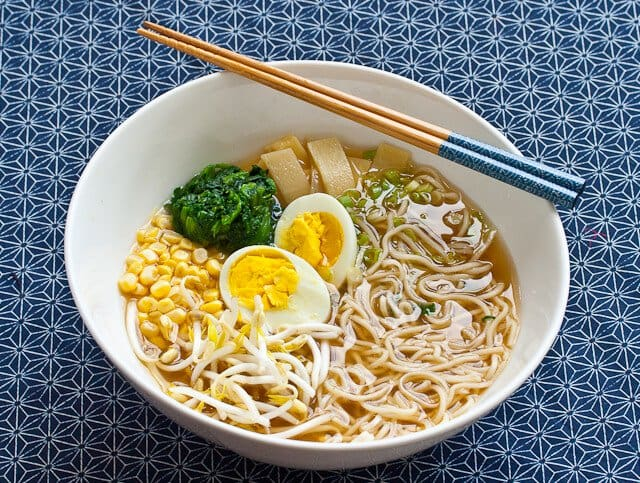 Japanese Miso Ramen Noodle Soup Recipe | Steamy Kitchen Recipes