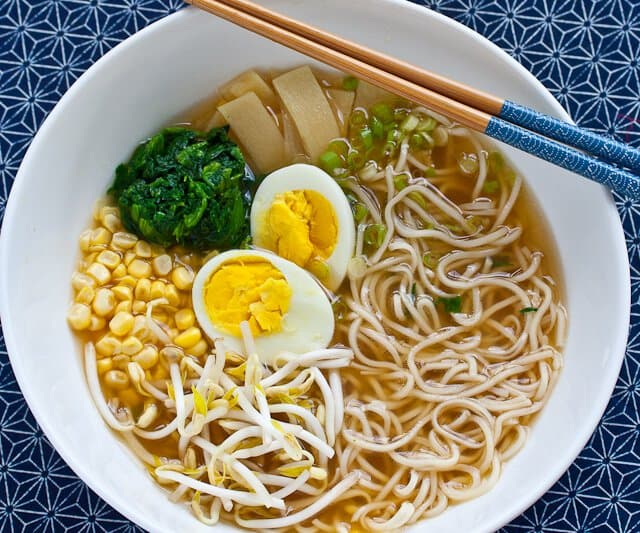 Miso Ramen Recipe - make in 25 minutes