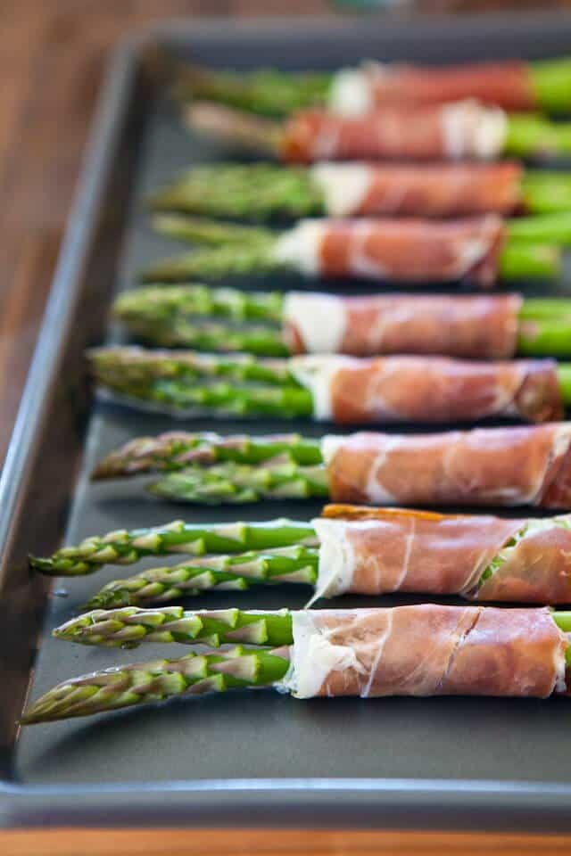Crispy Prosciutto Wrapped Asparagus - Steamy Kitchen Recipes