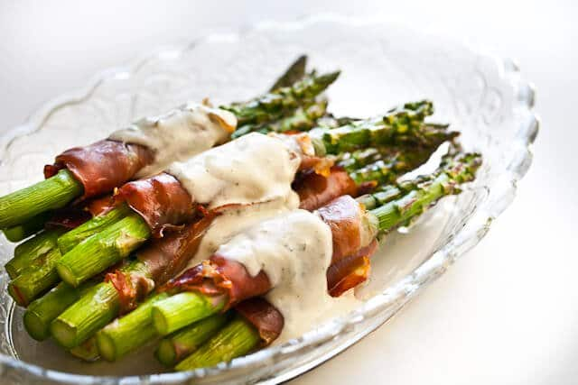 Crispy Prosciutto Wrapped Asparagus Steamy Kitchen Recipes