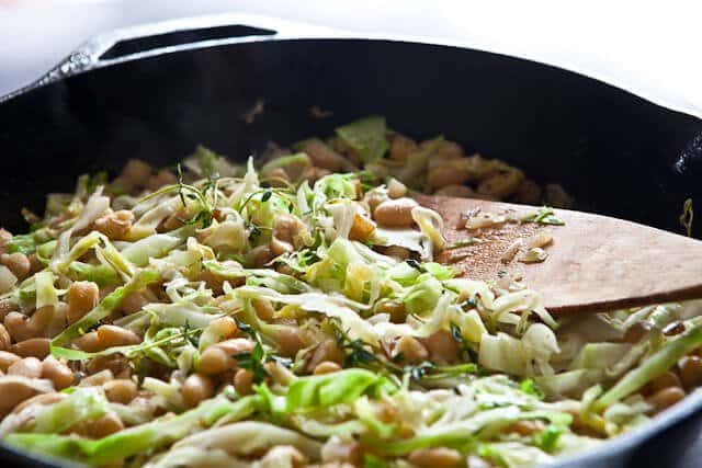White Beans and Cabbage - Steamy Kitchen Recipes