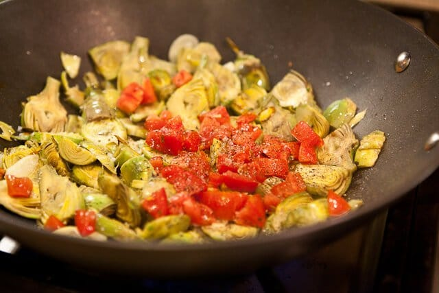 Baby Artichokes with Garlic and Tomatoes - Steamy Kitchen Recipes
