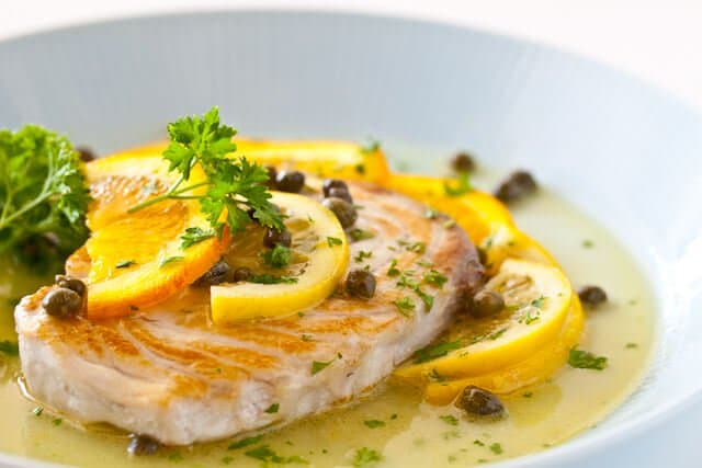 fish with citrus caper sauce steamy kitchen recipes ForLemon Fish Sauce Recipe