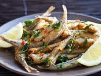 Fried Smelt Recipe - final dish