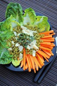 Carrot and Zucchini Linguini Salad - Steamy Kitchen Recipes