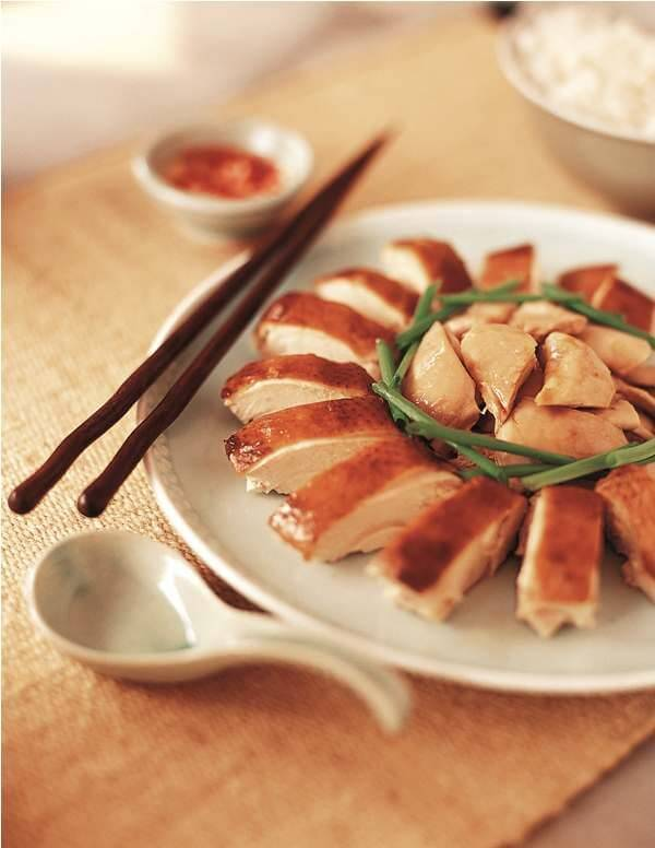Recipe for Soy Braised Chicken from Singapore Cooking Cookbook on my ...